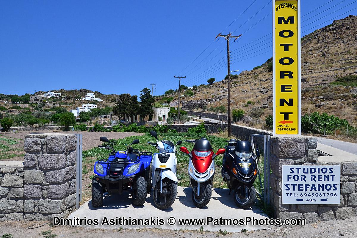 Patmos Moto Rent Photos