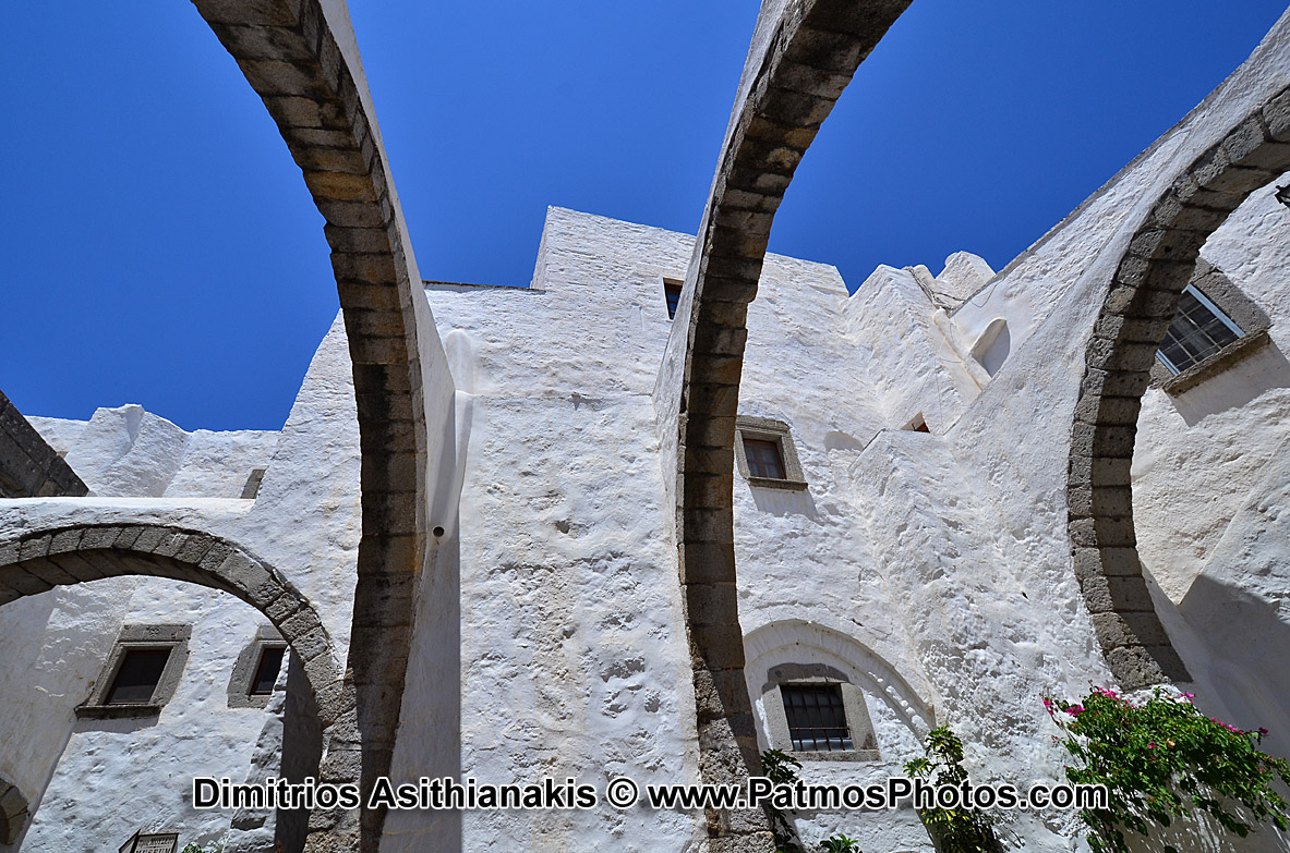 Patmos Holy Monastery Photos