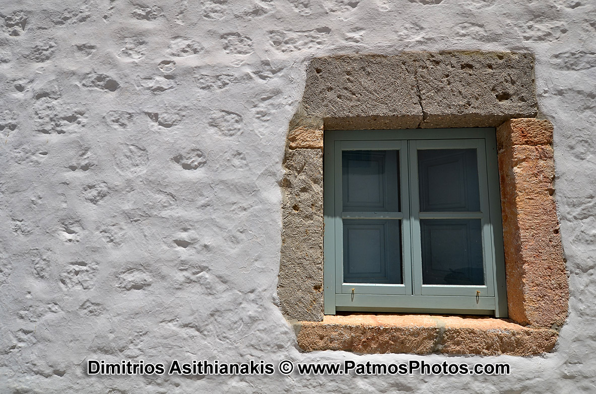 Patmos Chora Windows Photos