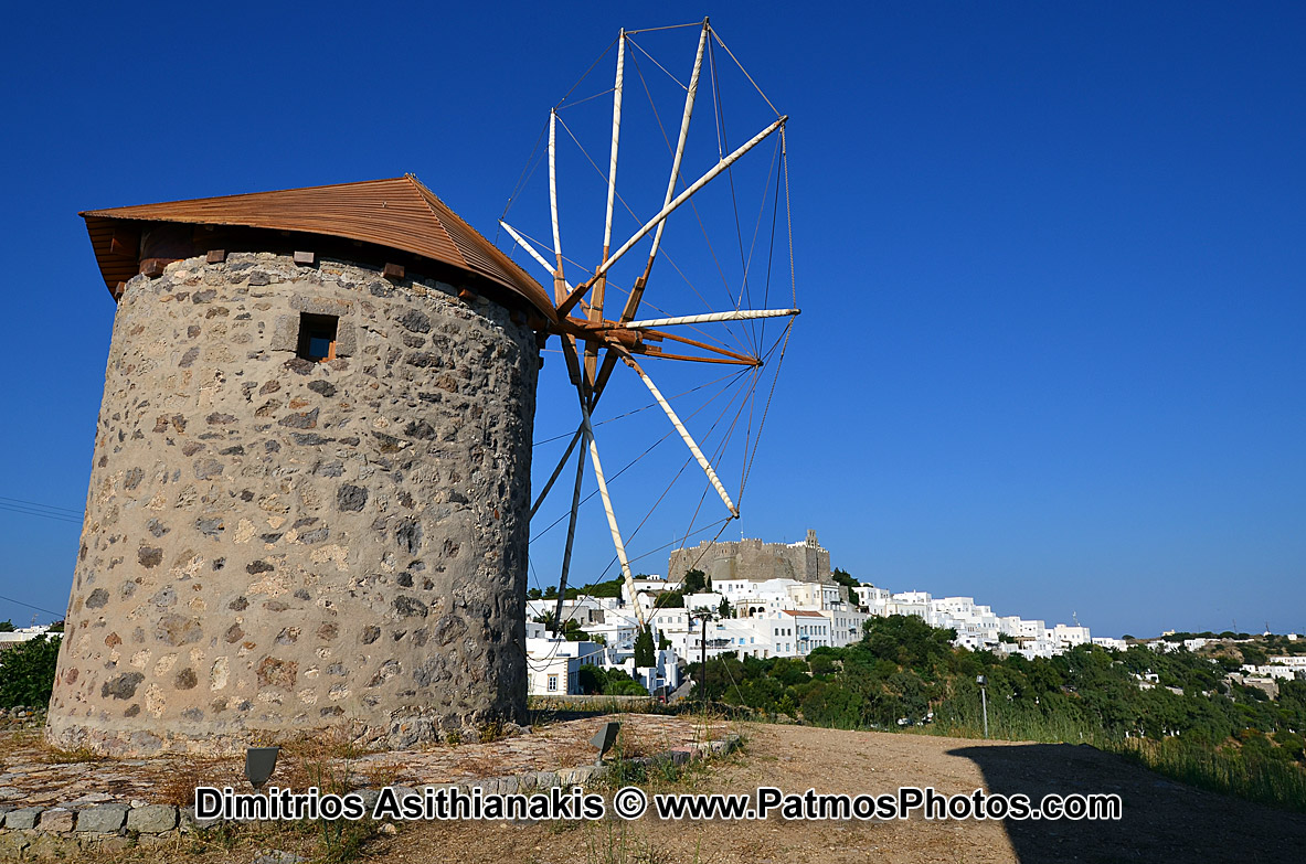 Patmos Chora Photos