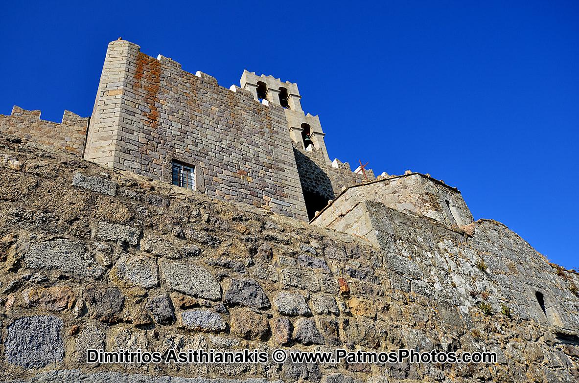 Patmos Chora Castle Photos