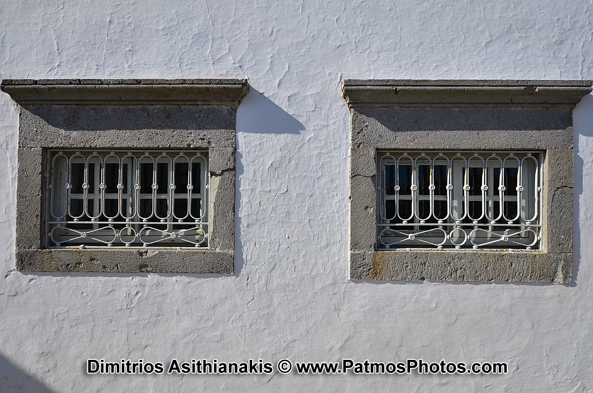 Patmos Chora Windows Photos