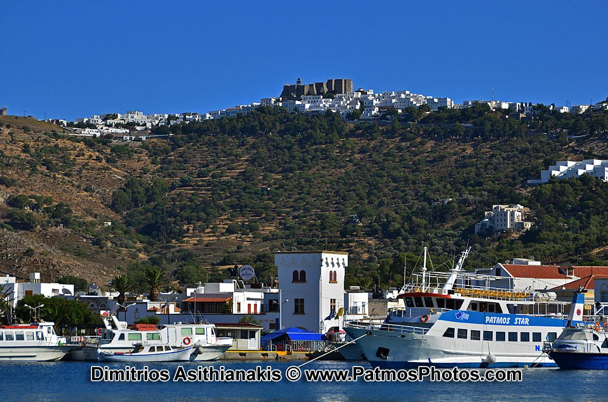 Patmos Towns - Villages