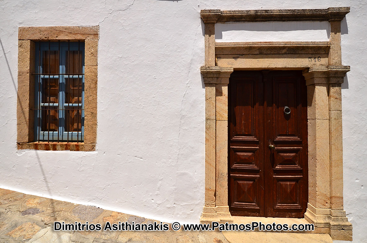 Patmos Chora Doors Photos