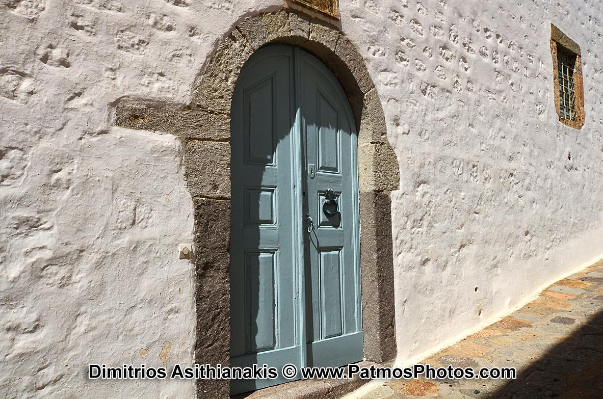 Patmos Chora Doors Photos