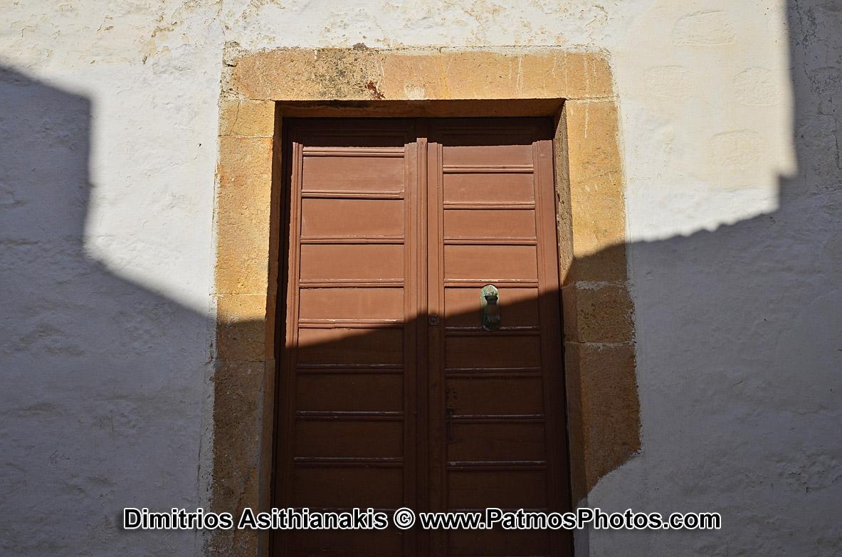 Patmos Chora Doors & Shadows Photos