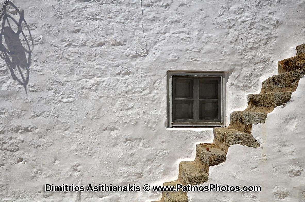 Patmos Chora Step Stairs Photos